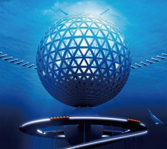 Underwater City by Shimizu Corporation (5)