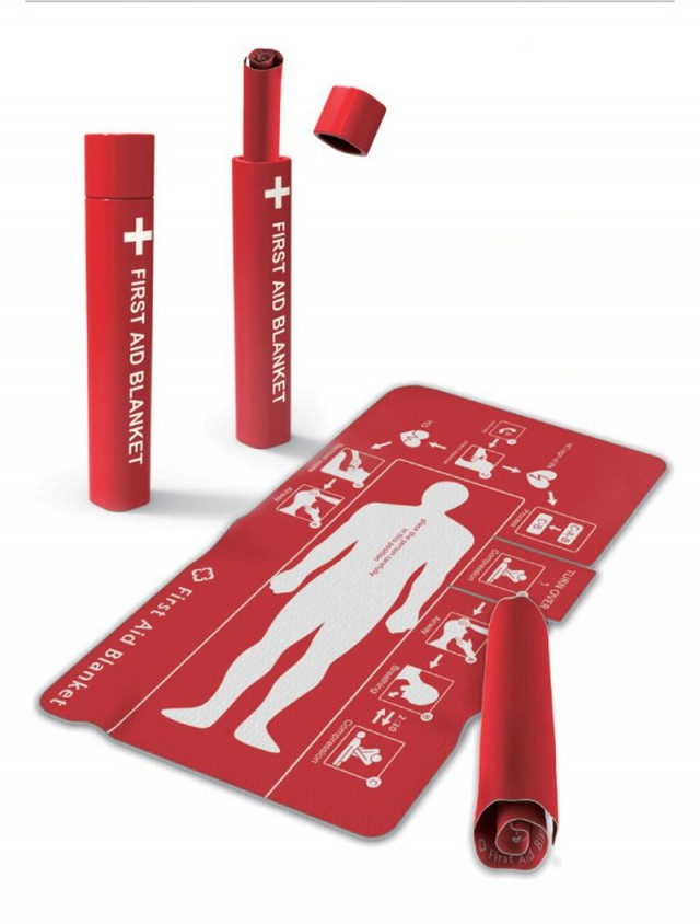 Blanket for First Aid  (4)