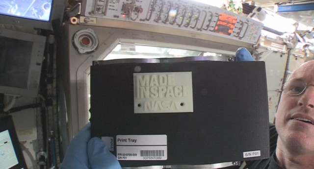 The first 3D Printed part in Space