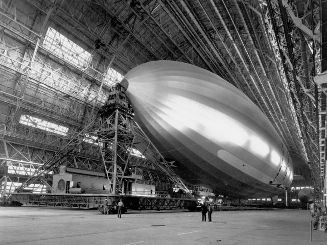 NASA Hangar One 2