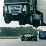 World-Record Truck Jump and Lotus F1