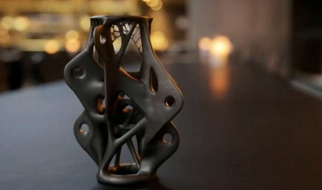 3D-printed structural component by Arup
