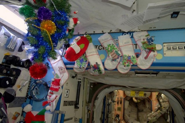 Christmas at ISS 2
