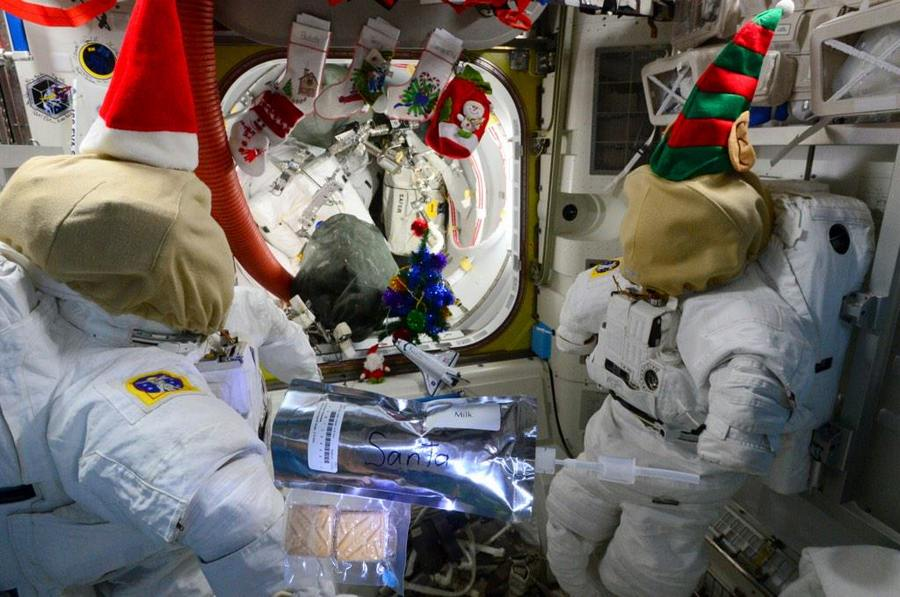 Christmas at ISS