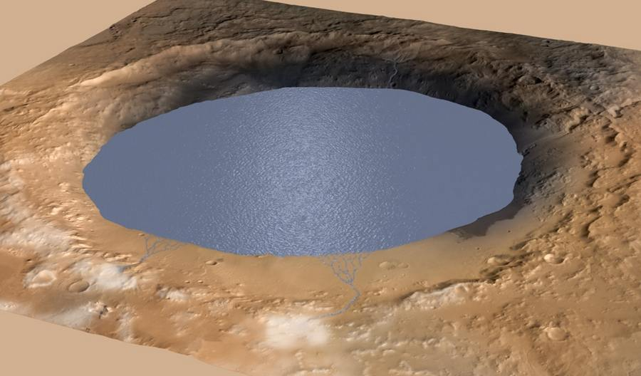 Gale Crater may have been a lake