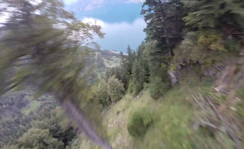 Flying with Wingsuit