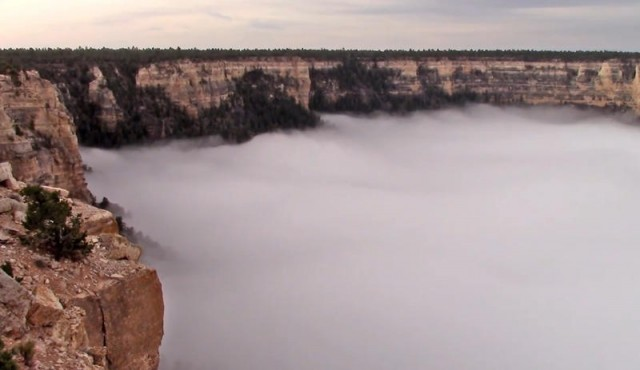Grand Canyon - Cloud inversion