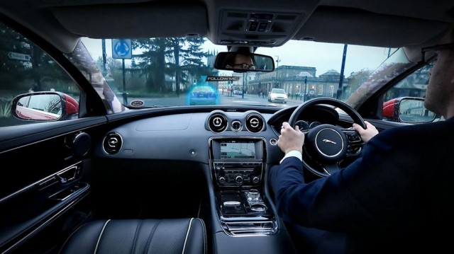 Jaguar Virtual Urban Windscreen