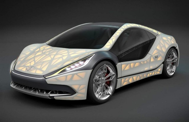 Light Cocoon sports car