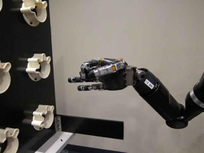 Mind-controlled robotic arm