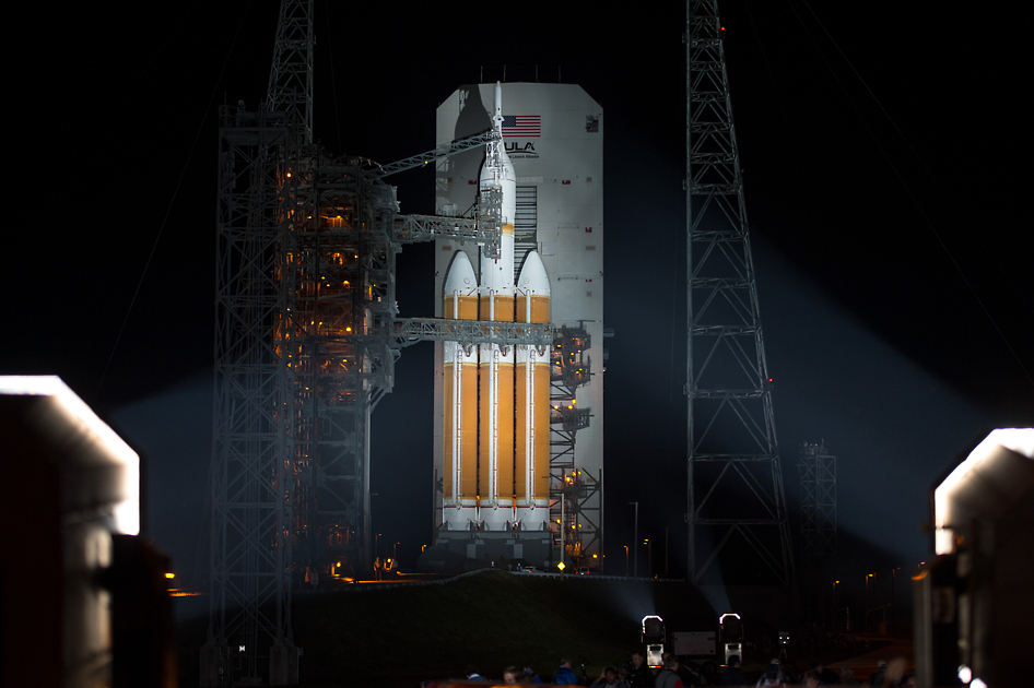 NASA Orion launch