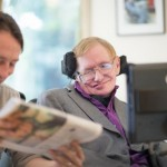 Stephen Hawking uses new Intel system to communicate