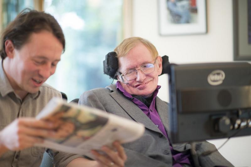 Stephen Hawking and Intel