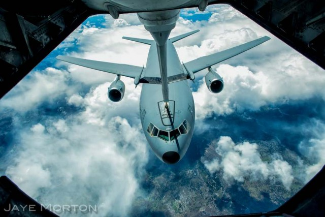 A KC-10 refueling another KC-10