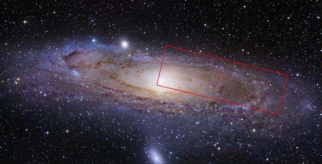 Andromeda Galaxy by Hubble