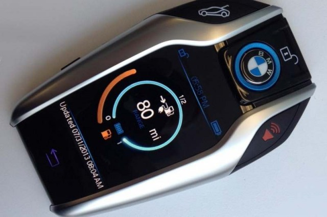 Touchscreen New Key fob by BMW