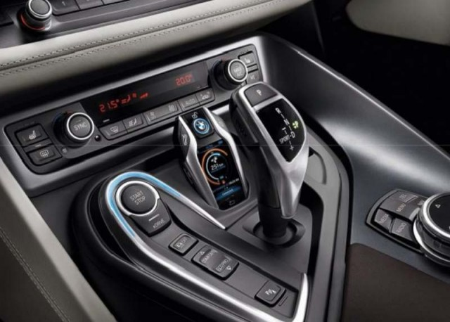 Touchscreen New Key fob in BMW i8