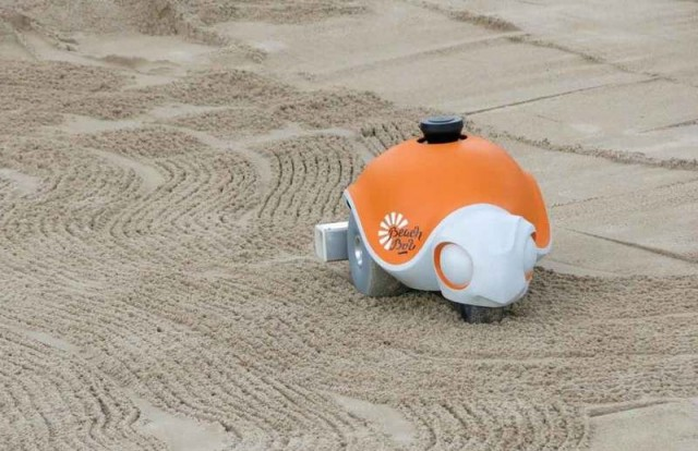 Beachbot mobile robot