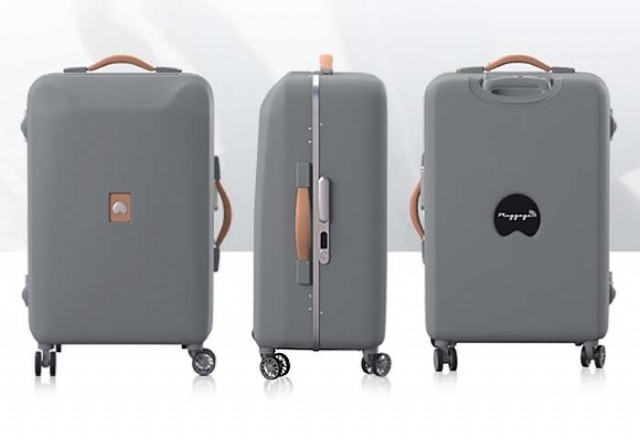 Delsey's Pluggage luggage