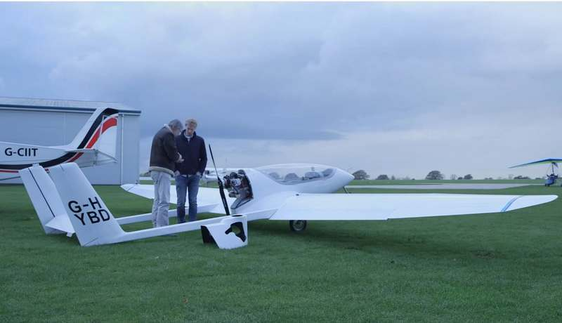 Wordlesstech first hybrid electric airplane for Electric motor for aircraft