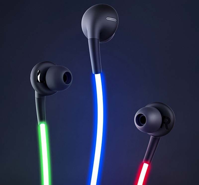 smart headphones with laser light (7)