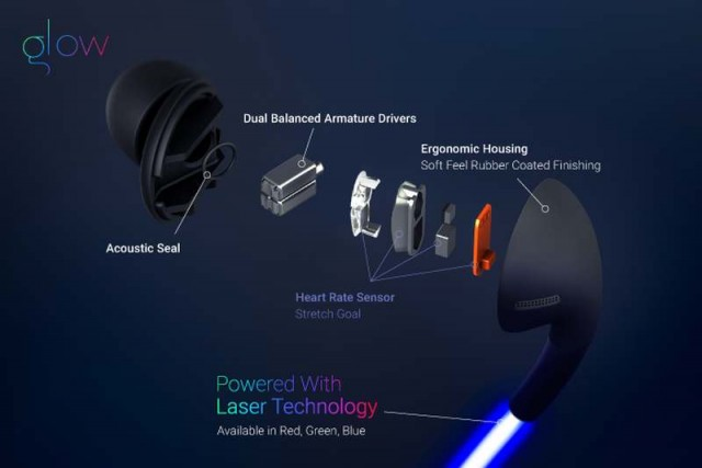 smart headphones with laser light (4)