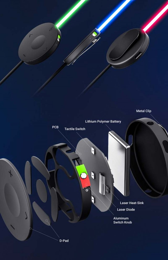 smart headphones with laser light (3)