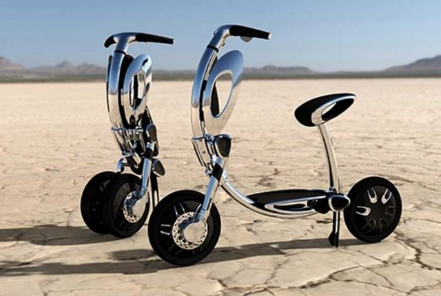 stylish electric scooter