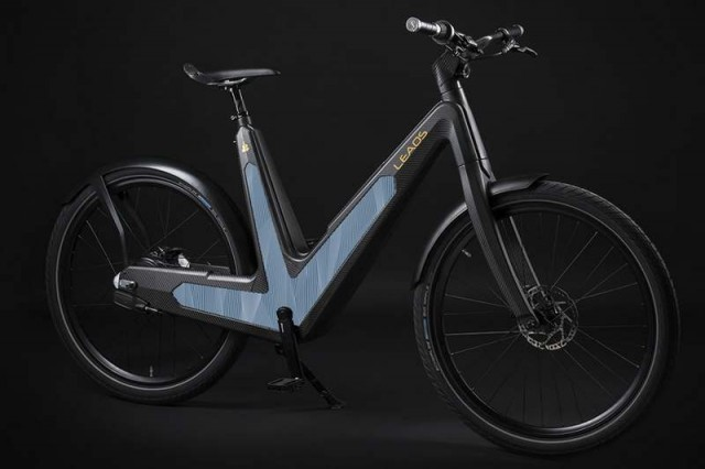 Carbon urban e-bike (4)