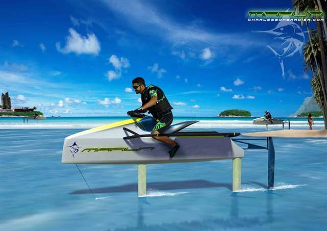 Electric Personal Hydrofoil