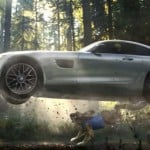 Mercedes AMG GT Super Bowl spot