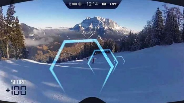 Augmented Reality Ski Goggles