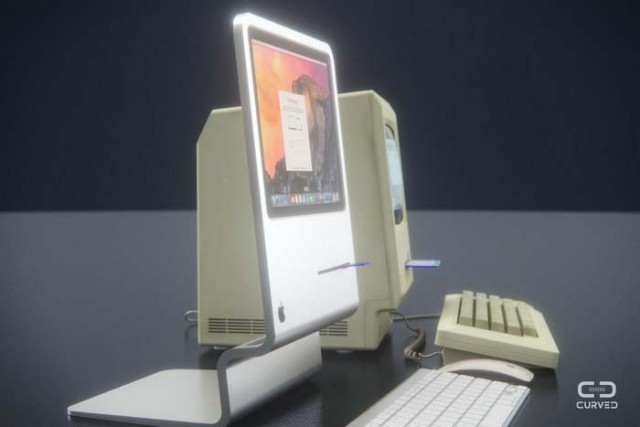 Slim Apple Macintosh 1