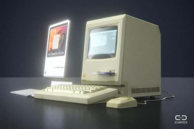 Slim Apple Macintosh air (2)