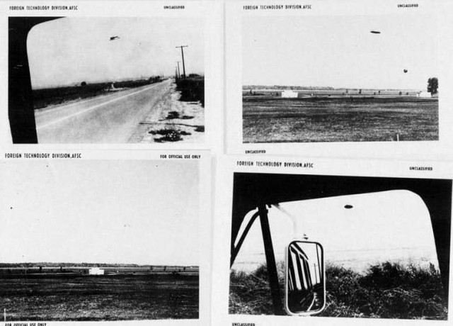 UFO images were taken in Santa Ana, California on August 3, 1965