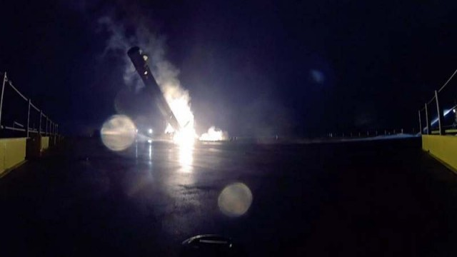 SpaceX's Autonomous Rocket Blow Up