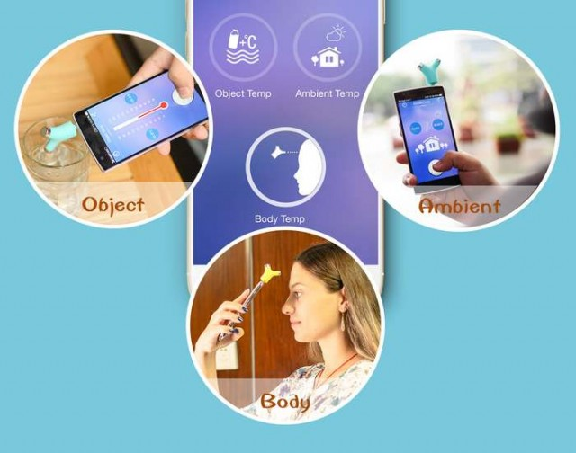 non-contact smart thermometer (5)