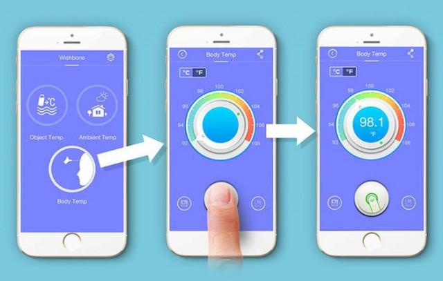 non-contact smart thermometer (4)