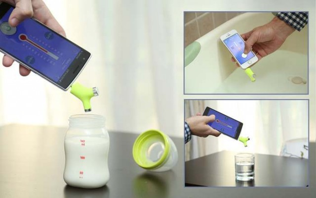non-contact smart thermometer (2)