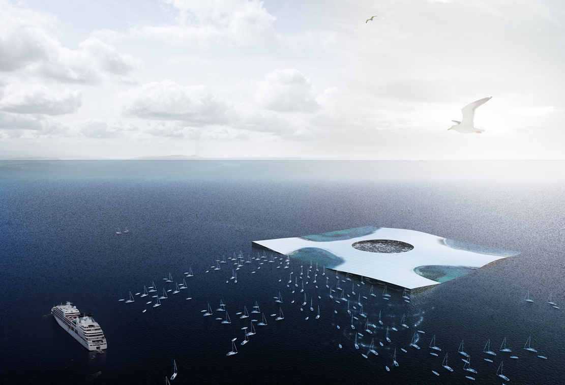 Huge observation floating platform (1)
