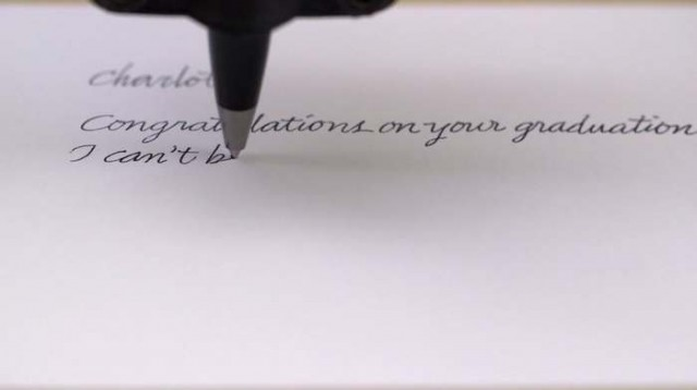 Bond Handwriting Robot (3)