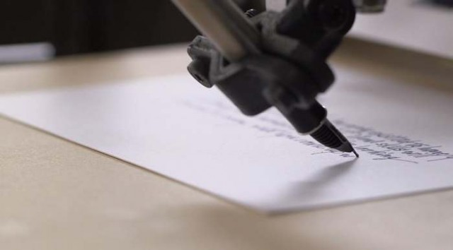 Bond Handwriting Robot (2)