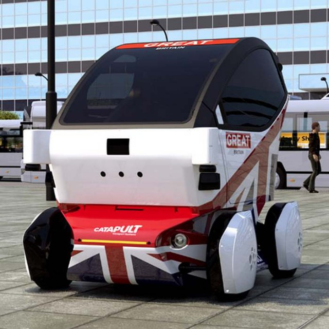 Britain's Lutz Driverless car 2
