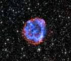 Expanding shell of debris called SNR 0519-69.0