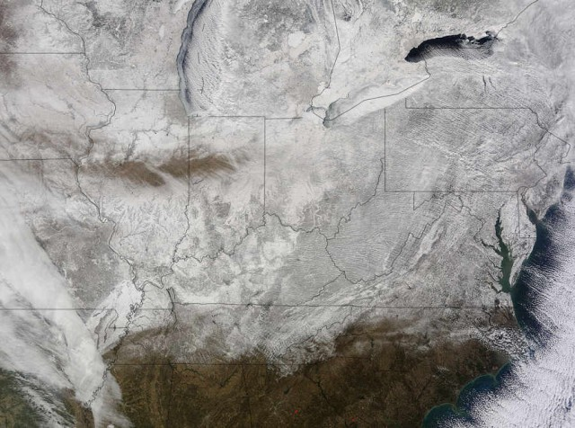 Eastern U.S. in a record-breaking 'Freezer'