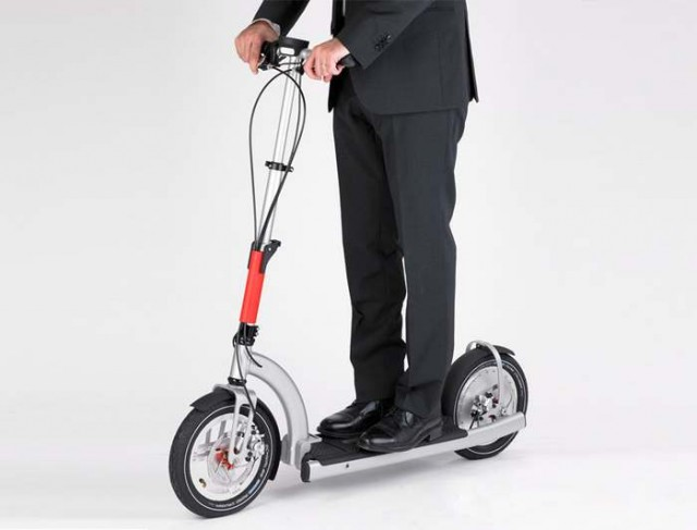 Electricmood portable e-scooter