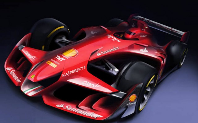 Ferrari's F1 car of the future