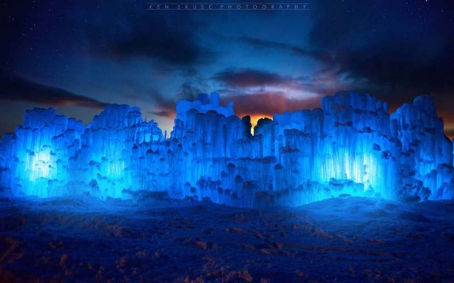 Ice Castles in Lincoln (1)