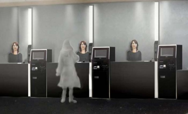 hotel in Japan will be run by robots