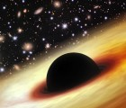 Gigantic Black Hole at the heart of the brightest quasar